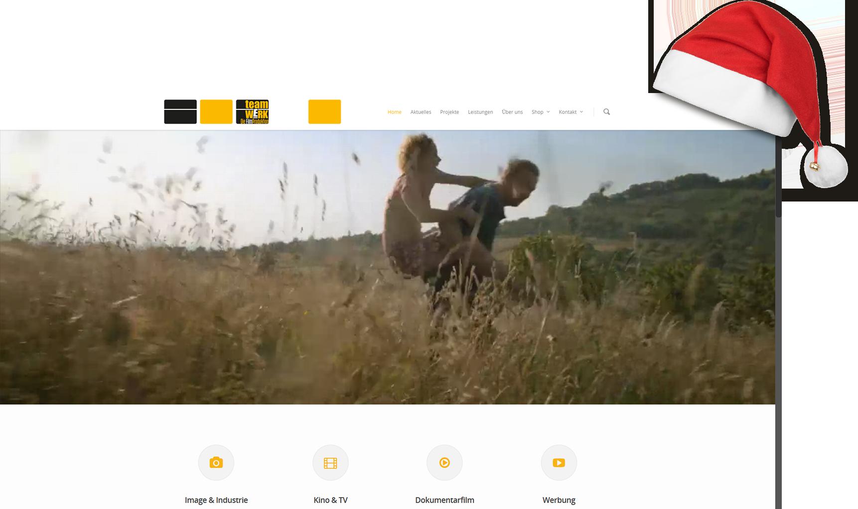teamWERK. Die Filmproduktion – neue Webseite